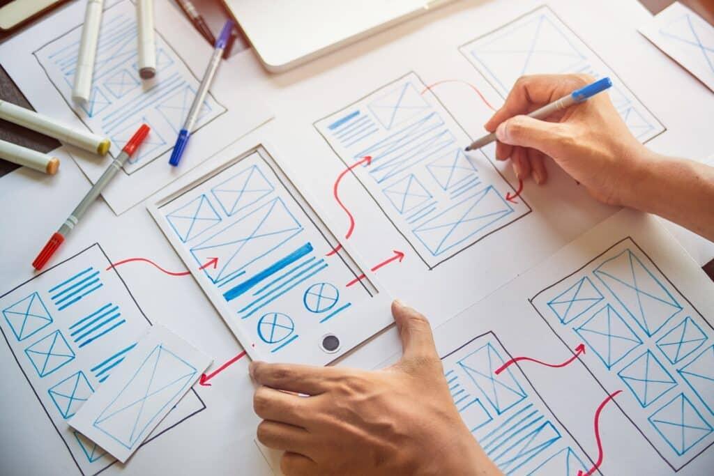 Les wireframes aident sensiblement à concevoir des sites efficaces