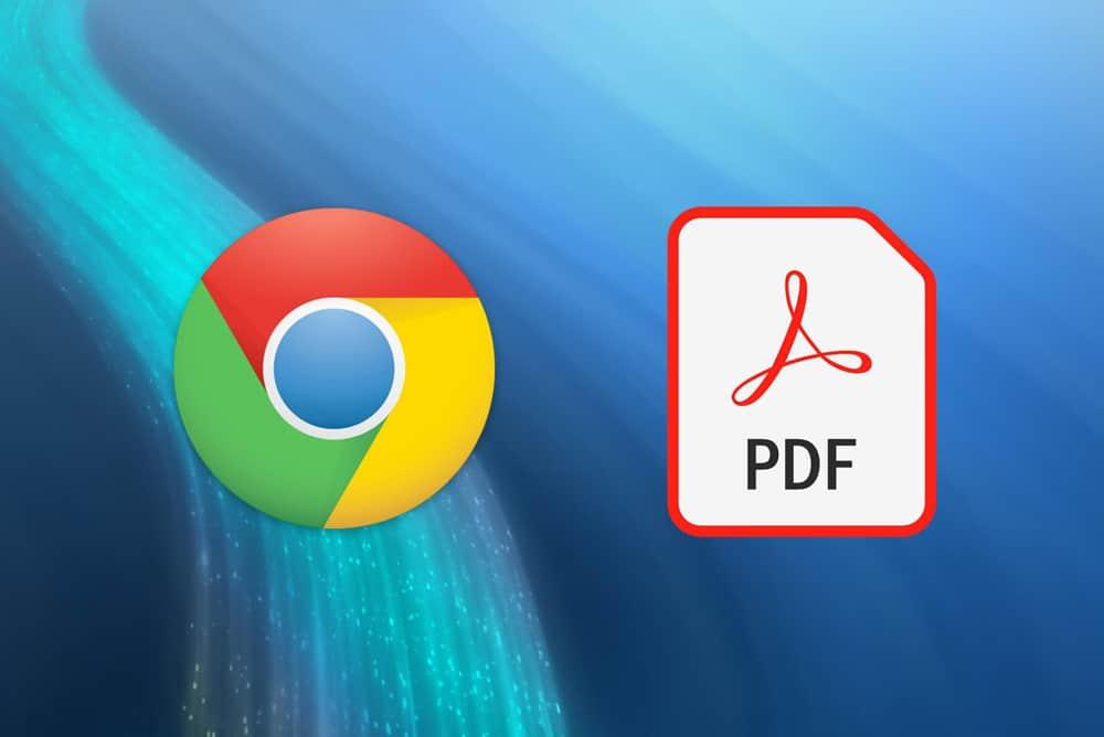 La transformation de fichiers PDF est facilitée avec la version 85 de Goggle Chrome