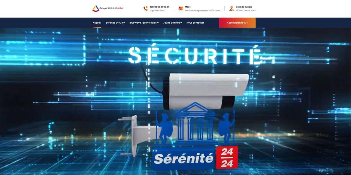 Projet Serenite 24h 24h Securite Ascenseur